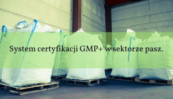 System certyfikacji GMP  w sektorze pasz