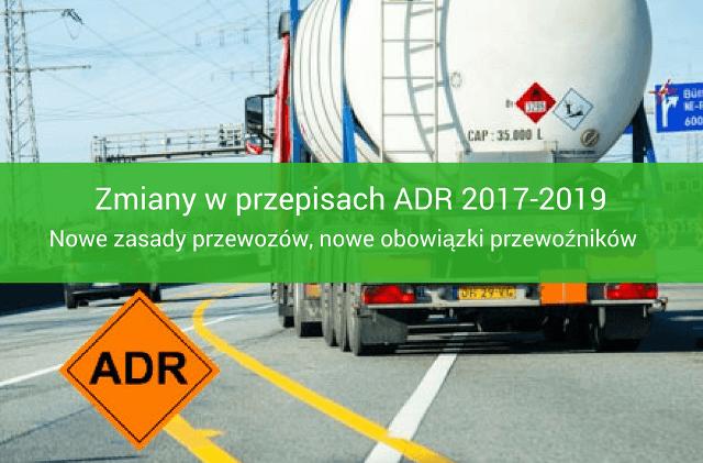 Nowe przepisy ADR 2017