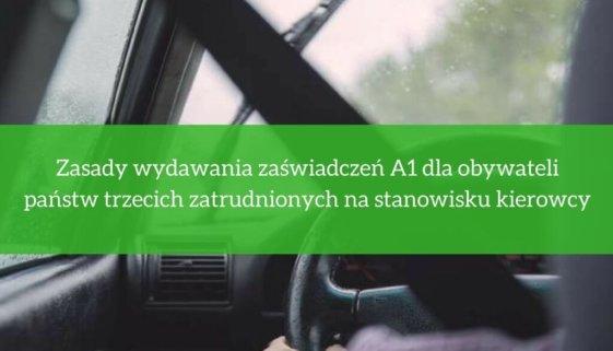 Uzyskanie A1 dla kierowców