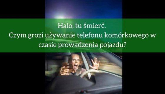 Telefon komórkowy w czasie prowadzenia pojazdu? Jakie kary?
