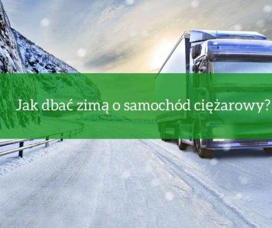 Co grozi kierowcy ciężarówki za zły stan techniczny auta oraz jak dbać o ciągnik, szczególnie podczas zimy.