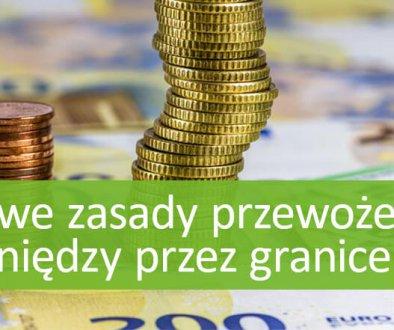 Nowe przepisy dotyczące przewożenia pieniędzy przez granice UE